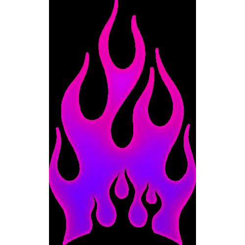 Flames magenta