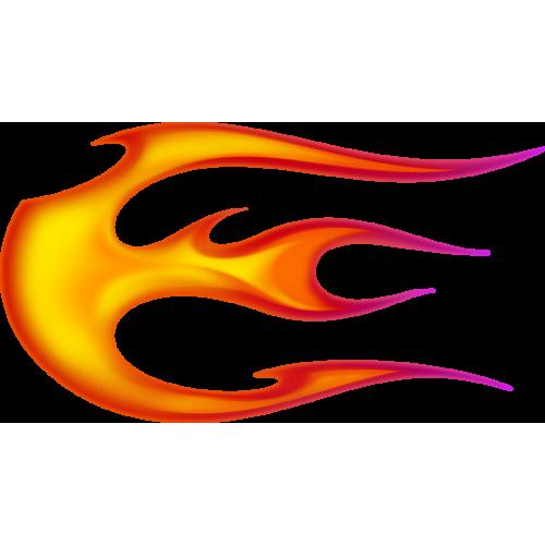 Flame ball vasenpuolinen