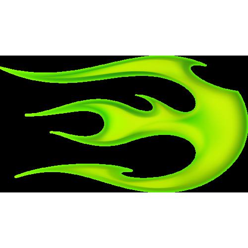 Flame ball oikeanpuoleinen vihreä