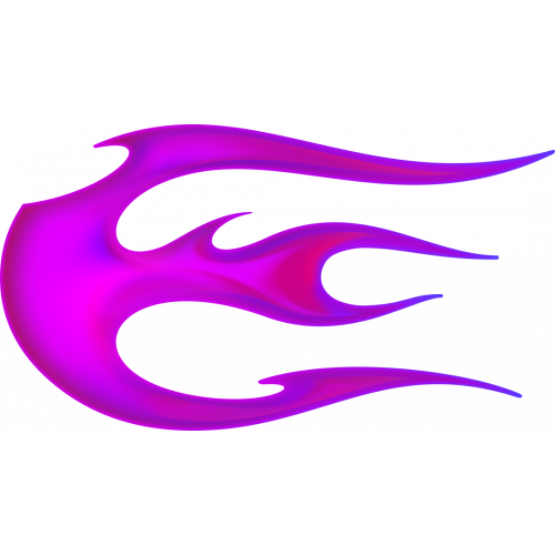 Flame ball vasenpuolinen magenta