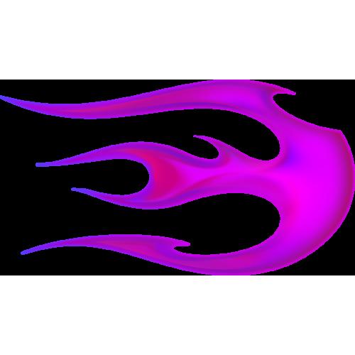 Flame ball oikeanpuoleinen magenta