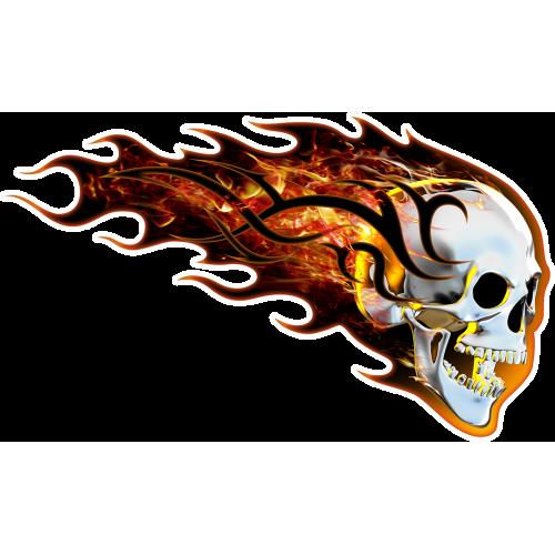 Burning skull oikeanpuoleinen