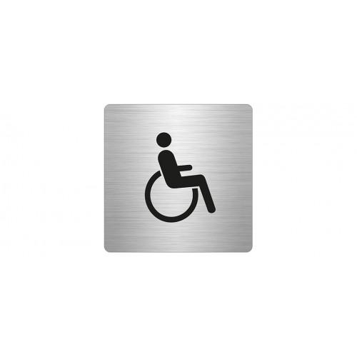 WC, vammainen, neliö