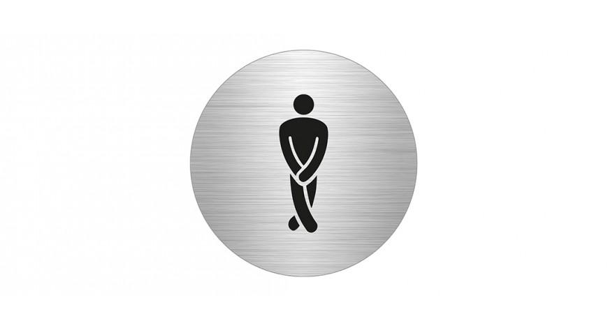 WC, miehet, pyöreä